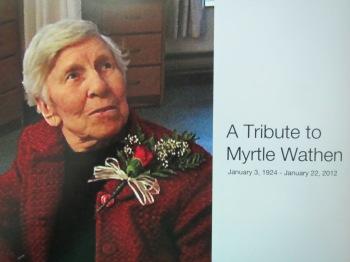 A Tribute to Myrtle Wathen