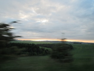 574 - driving from the Jurassic coast to our b and b