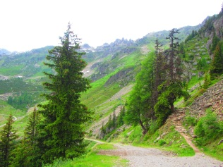 886 - hiking North of chamonix town site