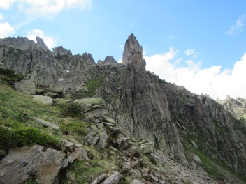 906 - hiking North of chamonix town site