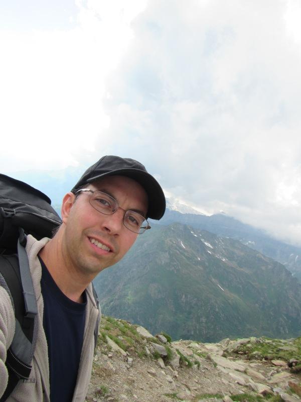 933 - hiking North of chamonix town site