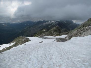 937 - hiking North of chamonix town site