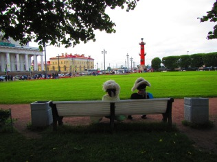 2521 - walking around Saint Petersburg