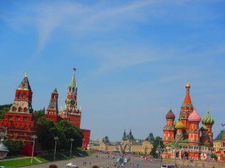 2769 - Walking around Moscow