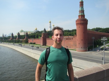 2773 - Walking around Moscow
