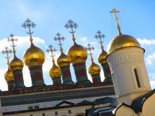 2832 - walking around Moscow(the Kremiln).