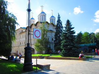 2835 - walking around Moscow(the Kremiln).