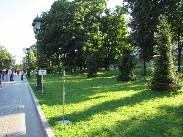 2867 - walking around Moscow(the Kremiln).