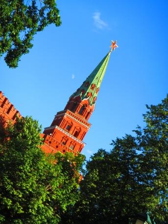 2869 - walking around Moscow(the Kremiln).