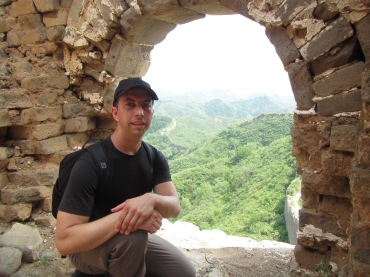 3757 - one of the great walls of China(photo of me)