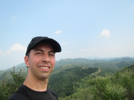 3762 - one of the great walls of China(selfie)