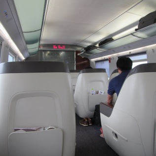 4103 - train to Shanghi bussines class (what kind of bussines is this wow)