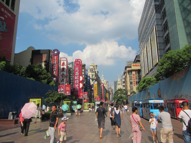 4125 - walking around Shanghai