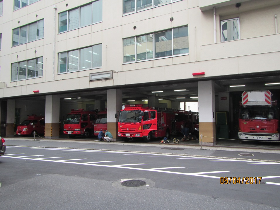 4347 - the fire hall in Tokyo