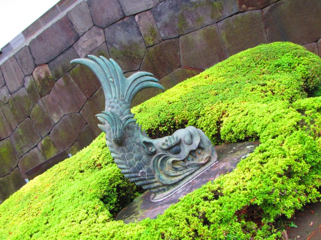 4372 - walking around Toyko(imperial palace)