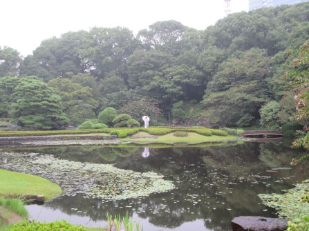 4401 - walking around Toyko(imperial palace)
