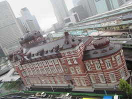 4405 - Tokyo railway station - walking around Toyko (Tunnels and shopping centers)