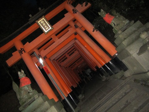 4588 - kyoto shrine gates(lots of them on the hill)