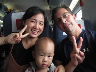 5337 - the train to Xi'an (good company)