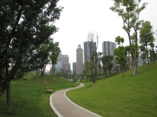 5738 - the park next to the worlds BIGGEST building in Chengdu