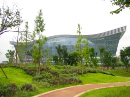 5739 - the park next to the worlds BIGGEST building in Chengdu