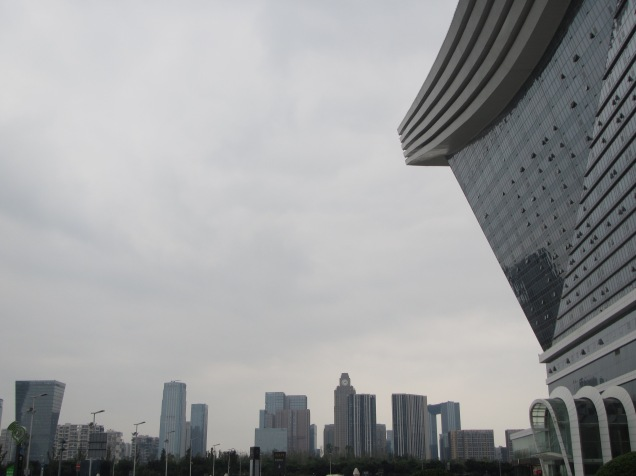 5750 - the worlds BIGGEST building in Chengdu