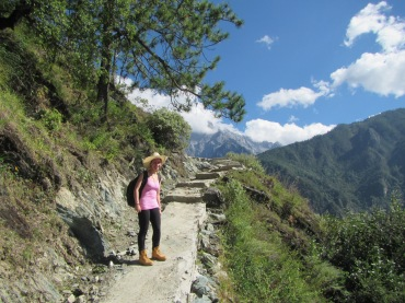 6272 - Hikeing at tiger leaping gorge - day 1