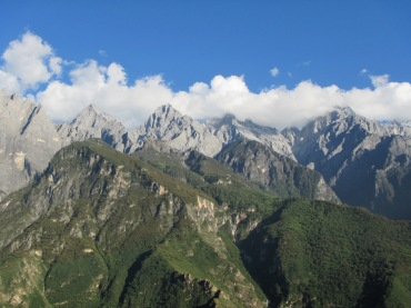 6285 - Hikeing at tiger leaping gorge - day 1
