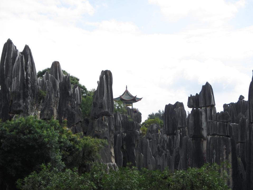6380 - waking around the stone forest near Kunming