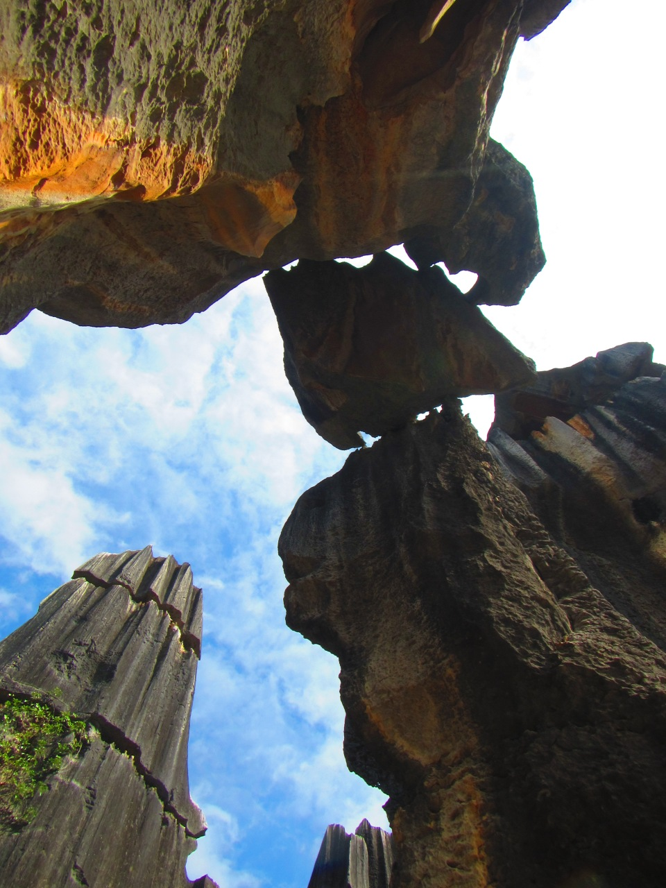 6386 - waking around the stone forest near Kunming