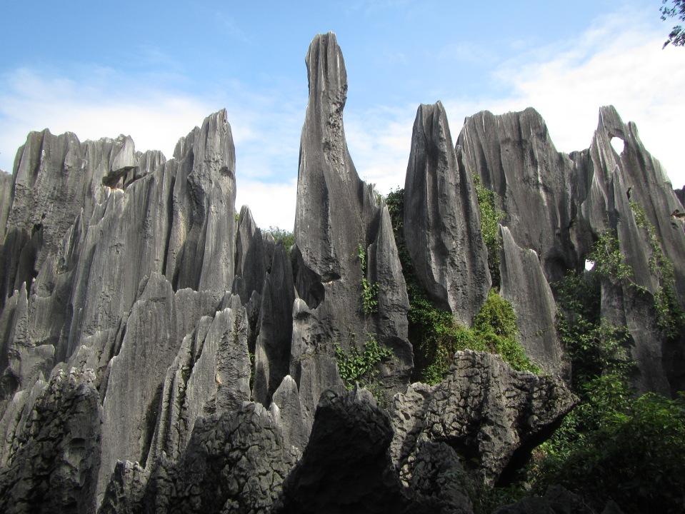 6415 - waking around the stone forest near Kunming