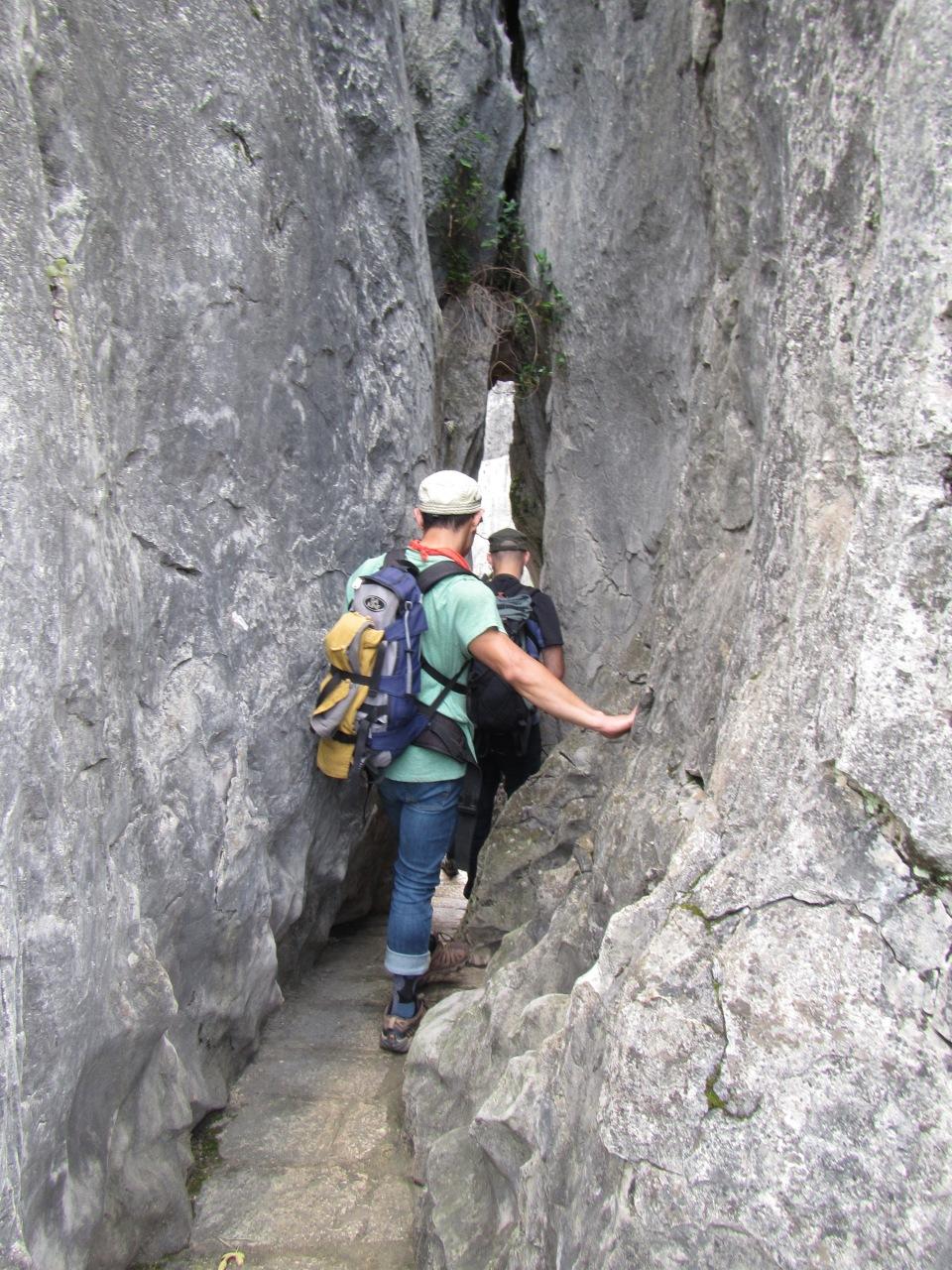 6445 - waking around the stone forest near Kunming