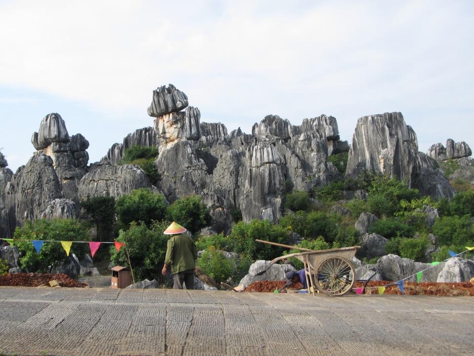 6462 - waking around the stone forest near Kunming
