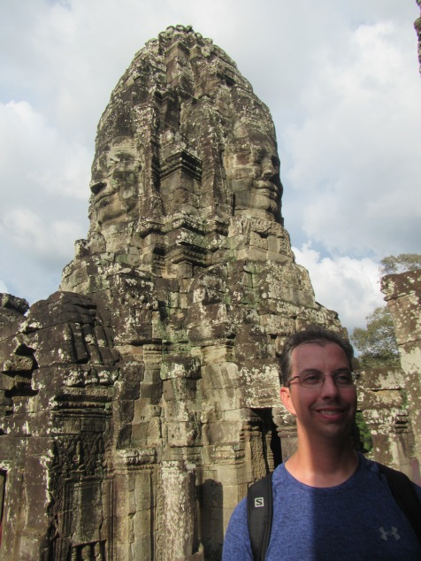 7037 - Exploring Siem Reap and Wats lots of wats day 2(Angkor Wat and Baphuon)