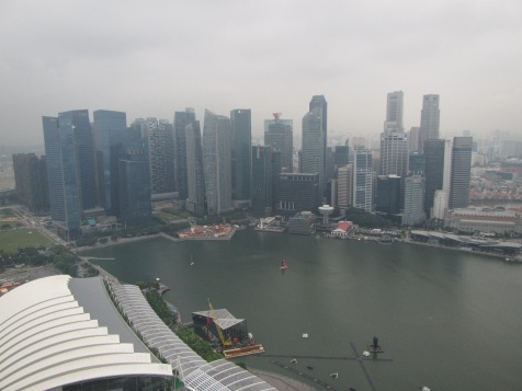 8037 - walking around Singapore (day 2)(the lookout atop the hotel)