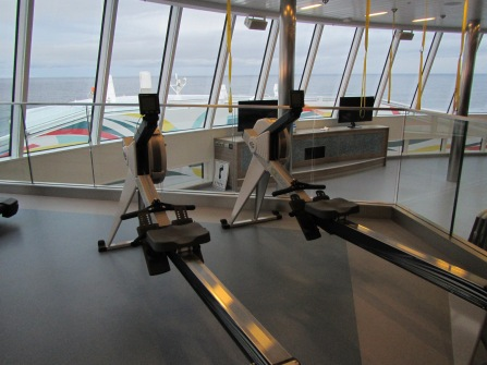 8400 - the gym on the Ovation of the Seas