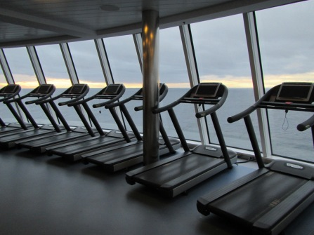 8401 - the gym on the Ovation of the Seas