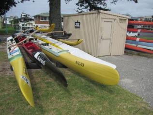 9363 - Walk around Tauranga well at this port of call (canoes)