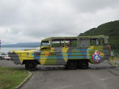 9393 - Duck tour bus and tour Rotorua