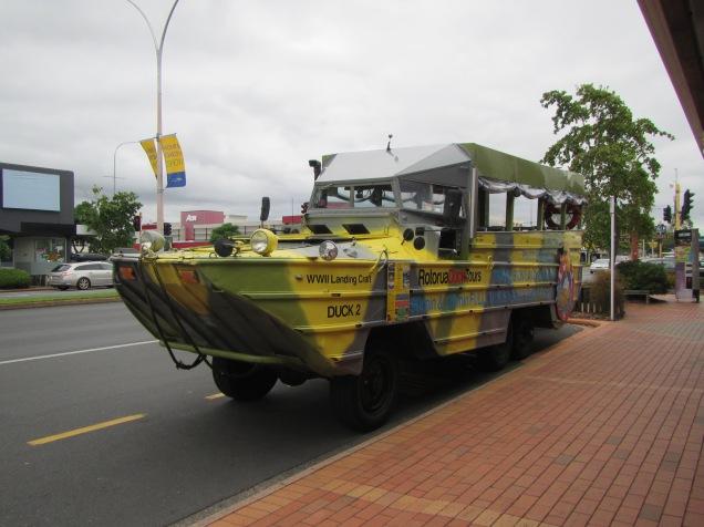 9412 - Duck tour bus and tour Rotorua