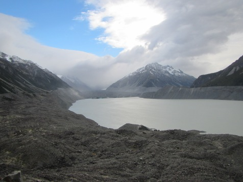 10355 - the drive from Mt. Cook too the North - Day 1(Tasman Glacier)