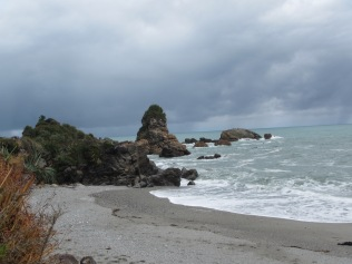 9707 - driving south along the west coast of the south Island