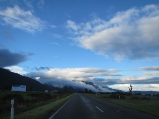 9715 - driving south to the town of Fox Glacier