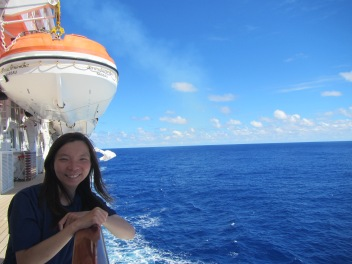 10410 - First full day at sea on the Crystal Symphony