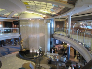 10411 - First full day at sea on the Crystal Symphony(main hall)