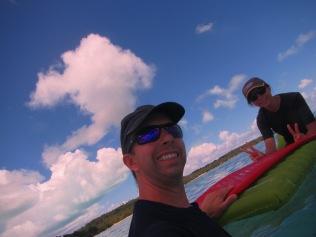 10686 - Aitutaki - Air mattress tour over the coral