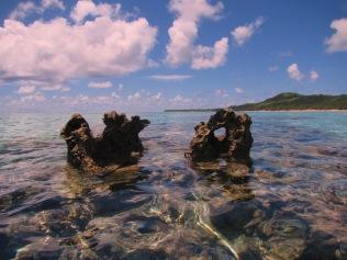 10732 - Aitutaki - Air mattress tour over the coral