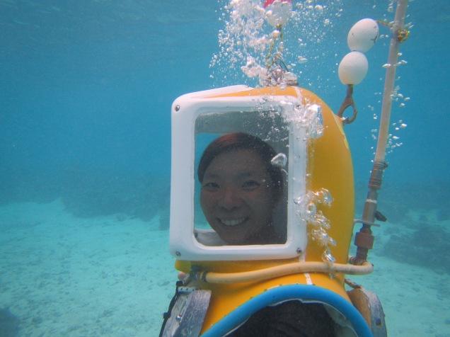 10809 - Bora Bora - underwater walk in the ocean
