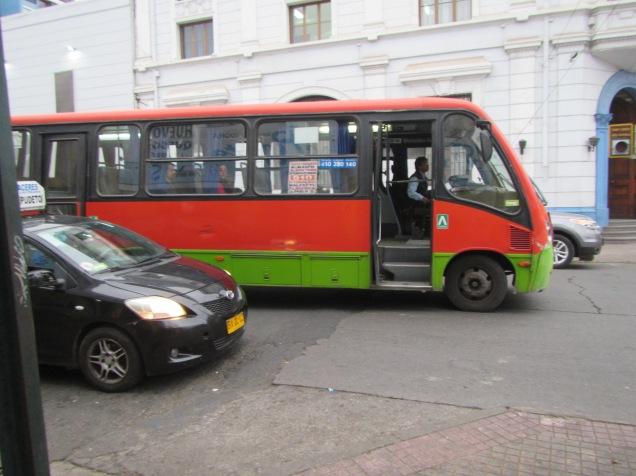 11682 - Valparaíso to San Pedro de Atacama(bus)