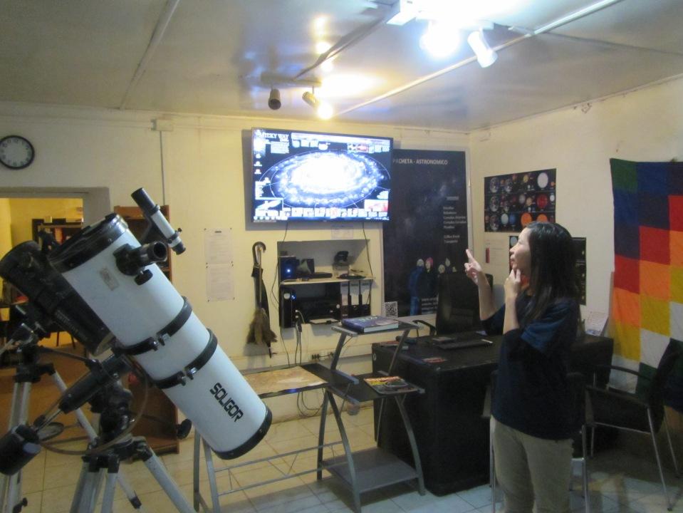 11711 - Cammy getting ready to go star gazing